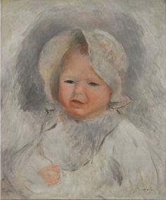 Pierre August Renoir. Ritratto del figlio Pierre, 1875