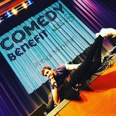 Watched @patrickjmonahan grab @joeldommett by the balls and drag him on stage. Literally. Such a fun #edfringe show tonight! #edinburgh #comedy #charity #expatlife