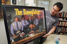 The Dawgfather! the sweetest poster.