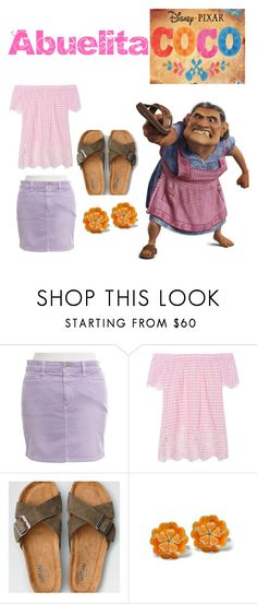 """""""Abuelita DisneyBound"""" by luna-rianne on Polyvore featuring Closed, Jadicted, American Eagle Outfitters, disneybound and coco"""