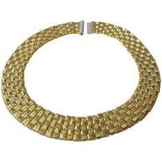 Roberto Coin APPASSIONATA Gold Diamond Clasp Necklace