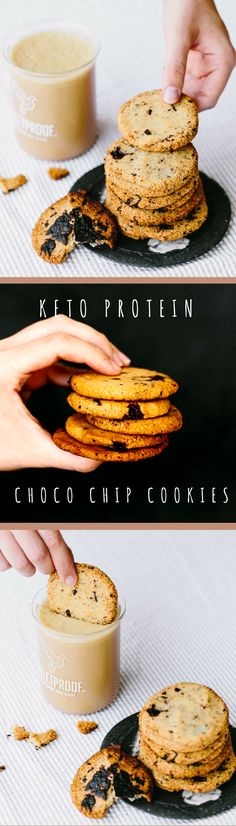 These protein-packed cookies are grain-free and keto-friendly. Take them for a dip in your afternoon Bulletproof Coffee for the perfect pick-me-up!
