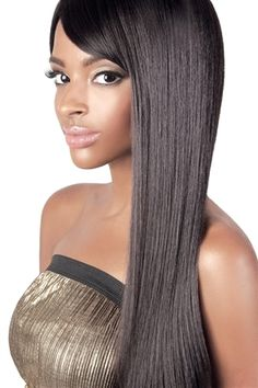 These synthetic lace front wigs, lace wigs, human hair wigs, glueless cap wigs, come in a variety of styles and colors. Synthetic Hair Extensions, Synthetic Lace Front Wigs, Japanese Hairstyle, Ebony Beauty, Wigs For Black Women, Beauty Supply, Human Hair Wigs, Weave Hairstyles, Hair Beauty