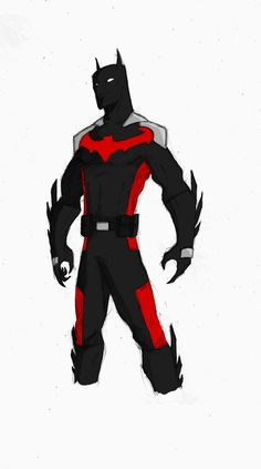 Batman Beyond Redesign - Color by TheoDJ