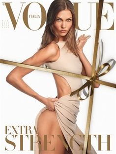 VOGUE ITALIA - DECEMBER 2011 COVER MODEL - KARLIE KLOSS