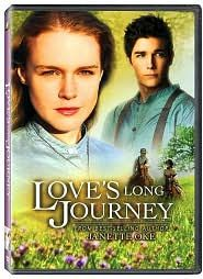 Love's Long Journey (2005) Missie's surprise pregnancy sets her on a new course that is both thrilling and terrifying. She and her husband, Willie, have headed west in a covered wagon, leaving behind the prairie home of Missie's parents. Now, caught between the excitement of the new adventure and the pain of not knowing when she'll see her family again, Missie copes with the challenges. Erin Cottrell, Logan Bartholomew, William Morgan Sheppard...TS Christian