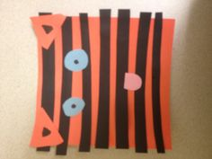 Tiger craft for a Zoo animals unit - cutting skills Safari Crafts, Zoo Animal Crafts, Zoo Crafts, Tiger Crafts, Safari Theme, Circus Theme, Jungle Theme, Jungle Party, Preschool Zoo Theme