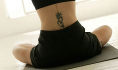 yoga tattoo idea :)