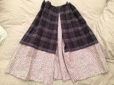 DoneByAna.blogspot.com: Rehaciendo traje de baserritarra. Se ha quedado corto Skater Skirt, Skirts, Patterns, Ideas, Fashion, Vestidos, Bias Tape, Pop Of Color, Hemline