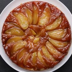 Tasty Caramel Apple Upside Down Cake Easy Pie Recipes, Quick Easy Desserts, Apple Recipes, Healthy Recipes, Upside Down Apple Cake, Baking Bad, Apple Desserts, Baked Pumpkin, Snapchat