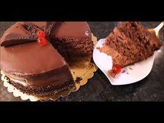 ΤΟΥΡΤΑ ΣΟΚΟΛΑΤΙΝΑ   Η πιο νόστιμη, αφράτη , τούρτα σοκολατίνα με παντεσπάνι !!! - YouTube Nigella, Sweets, Desserts, Youtube, Food, Tailgate Desserts, Deserts, Gummi Candy, Candy