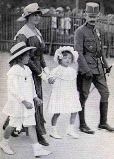 Karl and Zita with Otto and Adelheid