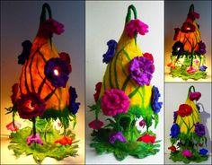 Cute  Bezaubernde und m rchenhafte Lampe Blumen lampe die nicht nur fuers Kinderzimmer ist