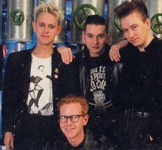 Depeche Mode: Dave Gahan, Martin Gore, Andy Fletcher, Alan Wilder