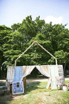 Vintage rustic barn wedding charm