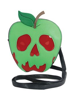 Snow White Poison Apple, Disney Purse, Poison Apples, Doja Cat, Green Bag, Red Green, Cute Bags, Vinyl, Purses And Bags