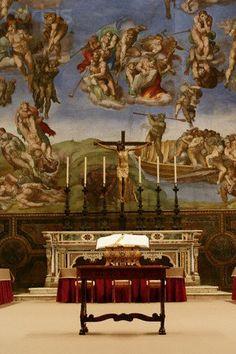 conclave 2005 Sistine Chapel