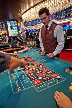 Our casinos have games for all player levels. Try out your luck in a game of roulette.