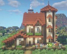 Minecraft House Plans, Minecraft Mansion, Minecraft Cottage, Minecraft House Tutorials, Minecraft Modern, Minecraft Pictures, Cute Minecraft Houses, Minecraft City, Minecraft Room