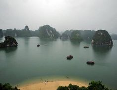 Most Beautiful Places Of The World – Part 2! - Halong Bay (Vinh Ha Long) - Vietnam