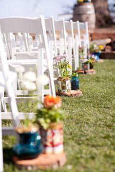 Santa Margarita Ranch Wedding by April Flowers Wedding Themes, Wedding Events, Wedding Reception, Our Wedding, Wedding Ideas, Weddings, Garden Wedding, Wedding Stuff, Pew Decorations