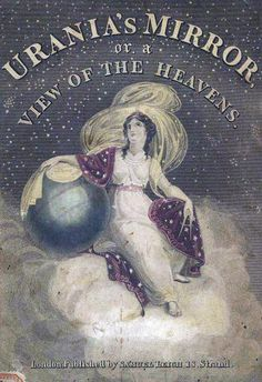 Urania's Mirror is a boxed set of 32 constellation cards circa 1824. An accompanied book called A Familiar Treatise on Astronomy by Jehoshaphat Aspin. #sciencesunday