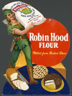 Advertisement for Robin Hood flour, ca. 1935