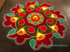 Colourful Rangoli....