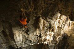 Rock climbing in Chiang Mai, Thailand