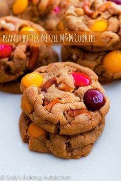 Peanut Butter Pretzel MM Cookies