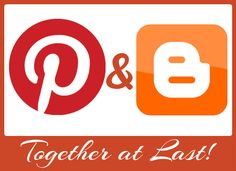 Pinterest and Blogger together at last