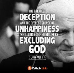 +St John Paul II+ Bible Quotes, Bible Verses, St John Paul Ii, Illusions, Catholic, God, Life, Reading, Dios
