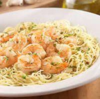 "Olive Garden -( looks like Shrimp Scampi) ""Gamberoni All'Aglio"""