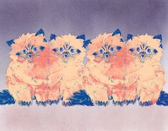 Orie's animal art. #猫 #猫アート #イラスト #おしゃれイラスト #猫イラスト Cats And Kittens, Tapestry, My Favorite Things, Painting, Decor, Hanging Tapestry, Tapestries, Decoration, Painting Art
