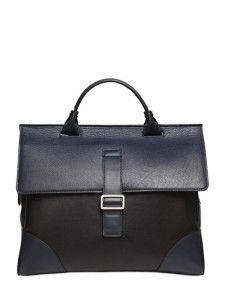 97c40619a037 Mark Giusti Two Tone Leather Briefcase. Let s Go and Shop · Bags