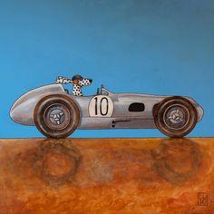 mercedes W196 - 1954
