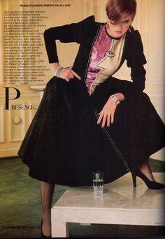 Gia Carangi for Vogue Magazine by Denis Piel Gia Carangi, 70s Fashion, Fashion History, Vintage Fashion, Couture Fashion, Runway Fashion, Fashion Outfits, Fashion Trends, Yves Saint Laurent
