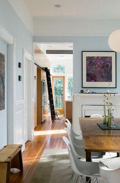 Fashionable dining room - stylish image