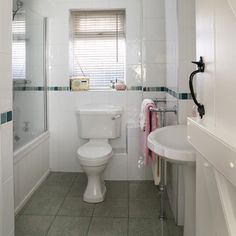 small bathroom with sloped ceiling by leeann.hall.16 | House ...