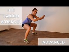 10 Minute Brutal HIIT Ladder Workout Routine – Advanced Cardio & Strength Training Workout - YouTube