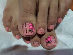 Toe Nail Color, Toe Nail Art, Nail Colors, Pretty Toe Nails, Pretty Toes, Pedicure Designs, Toe Nail Designs, Beautiful Toes, Sexy Toes