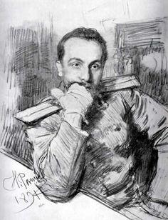 Ilya Repin  Илья Репин. Рисунки.