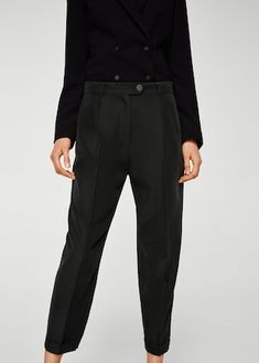 Modal suit trousers