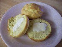 coconut flour almond poppyseed muffins