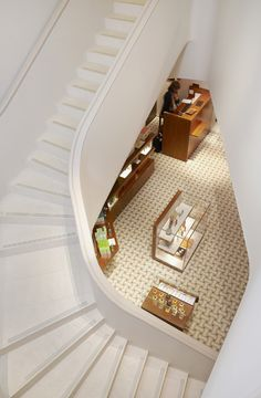 Hermès flagship store by RDAI, Geneva store design