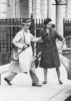 Katharine Hepburn  She wore 'pants when women were not 'allowed' to wear pants.