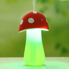 SHARE & Get it FREE | Mini USB Mushroom Spray Fogger Humidifier LED Night LightFor Fashion Lovers only:80,000+ Items·FREE SHIPPING Join Dresslily: Get YOUR $50 NOW!