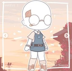 Manga Clothes, Drawing Anime Clothes, Anime Girl Drawings, Cute Drawings, Bad Girl Outfits, Club Outfits, Character Outfits, Cute Anime Character, Marshmello Wallpapers