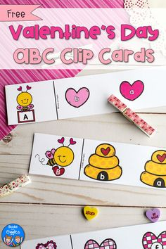 This preschool Valentine activity makes working on letter recognition fun! It's easy prep too - you just cut apart the free printable and add clothespins. Valentines Day Activities, Alphabet Activities, Preschool Activities, Preschool Alphabet, Montessori Preschool, Alphabet Letters, Valentine Theme, Valentine Day Crafts, Valentine Nails