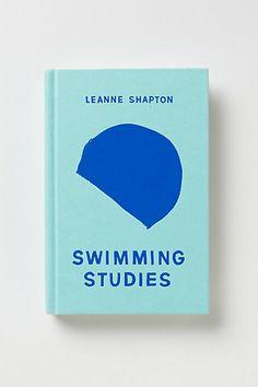 Pretty cover design Swimming Studies - Leanne Shapton